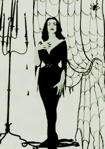 Greetings my friends! Can your heart stand the true story of Maila Nurmi? The first ever TV horror hostess crossed over peacefully in her sleep last month ... & Farewell to Vampira